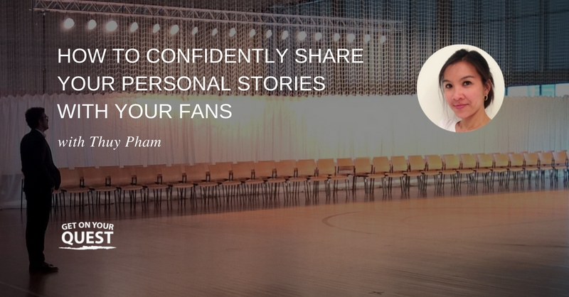 39: How To Confidently Share Your Personal Stories With Your Fans